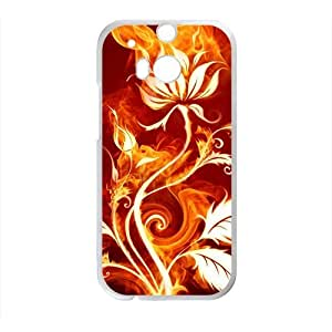 Fire Leaf Phone Case for HTC One M8