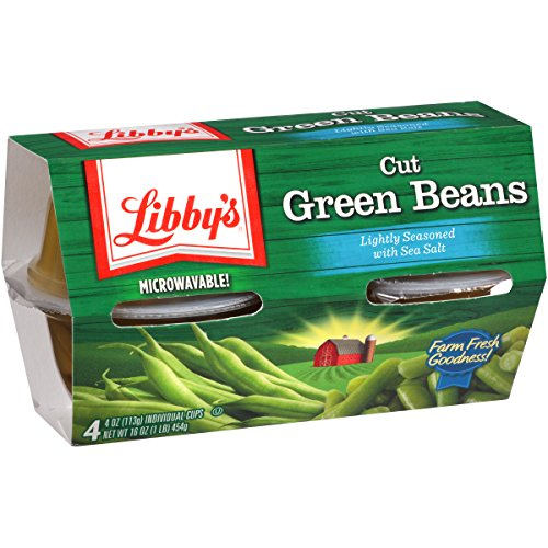 Libby's Cut Green Beans, 7.5 Pound (Pack of 6)