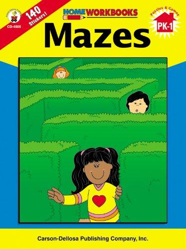 Read Online Mazes, Grades PK - 1 (Home Workbooks) PDF