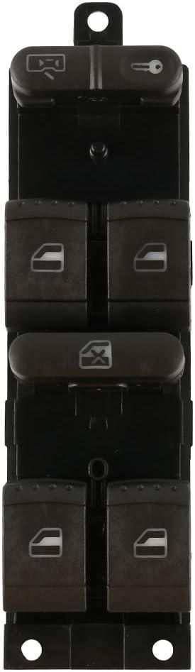 SurfMall Interruptores de ventana Interruptores de ventana el/éctricos 1J4959857B paraVWPassatGolf J e tt a B o ra MK4 B5 1998-2004