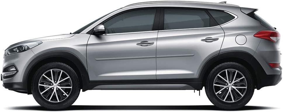 UNPAINTED UNP Dawn Enterprises FE-TUC16 Finished End Body Side Molding Compatible with Hyundai Tucson