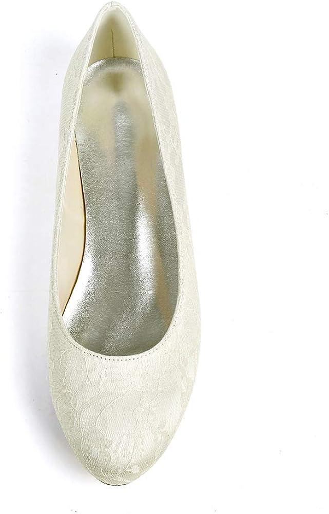 Moojm Femmes Mariage Demoiselle dhonneur Bal de Soir Chaussures Plats Ballerines Pointure