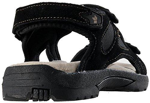 Lico Bermuda V Damen Trekking Sandale Sommerschuh Freizeitschuhe schwarz Gr. 38