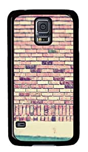Samsung Galaxy S5 Case,Samsung Galaxy S5 Cases - Vintage Wall Custom Polycarbonate Hard Back Case For Samsung Galaxy S5 - Black