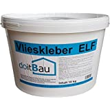 doitBau Vlieskleber 18kg ELF Farblos Glasvlies Kleber Tapete Maler Vlies Glasgewebe