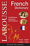 Larousse Concise French-English/English-French Dictionary (English and French Edition)