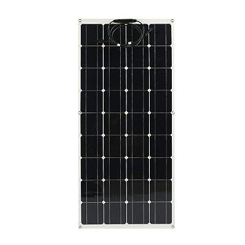 Heimwerker Solarenergie Flexibles Solarmodul Mit Rahmen 160 W Solarpanel Photovoltaik 12v Camping Boot