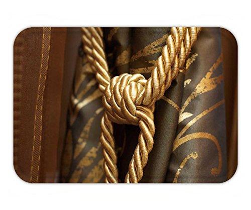 Beshowere Doormat gold knot on luxury curtain tassel (Tassels Atlanta)