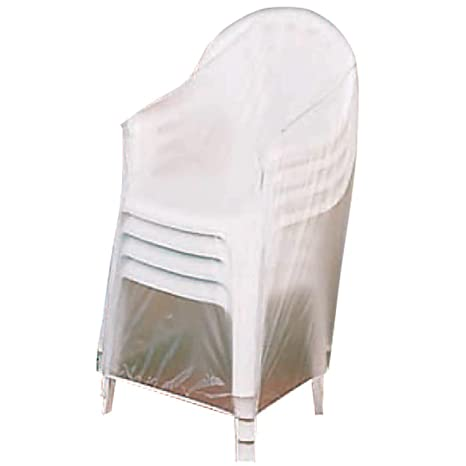 amazon com outdoor vinyl covers patio chair covers garden rh amazon com Clear Vinyl Couch Covers vinyl fabric for outdoor furniture covers