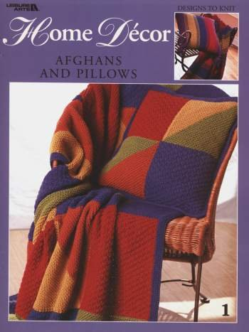 Home Decor Afghans and Pillows - Knitting Patterns
