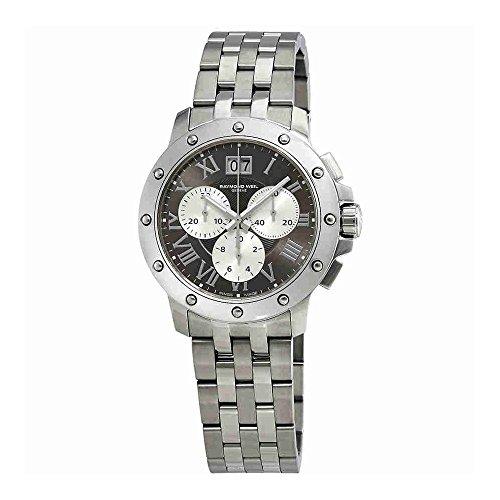 Raymond Weil Men's 4899-ST-00668 Tango Grey Chronograph Dial Watch (Raymond Wrist Weil Date Watch)