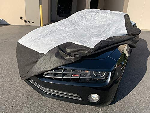 Car Cover For 10-19 Chevy Camaro LS LT SS ZL1 Z//28 Coupe VG56C7