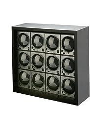 Diplomat Unisex Boxy Ultimate-12 Package Programmed Carbon Fiber Winder Black 31-403/12