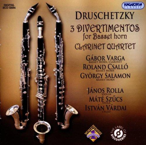 Druschetzky: Divertimentos for Basset Horn, Clarinet - Basset Horn