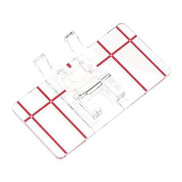 Prensatelas Accesorios para Máquina de coser Matefielduk Patchwork multifuncional Paralelo estándar Pie prensatelas Pieza de coser: Amazon.es: Hogar