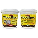 WoodEpox, Epoxy Wood Replacement Compound, 2 Gallon Kit