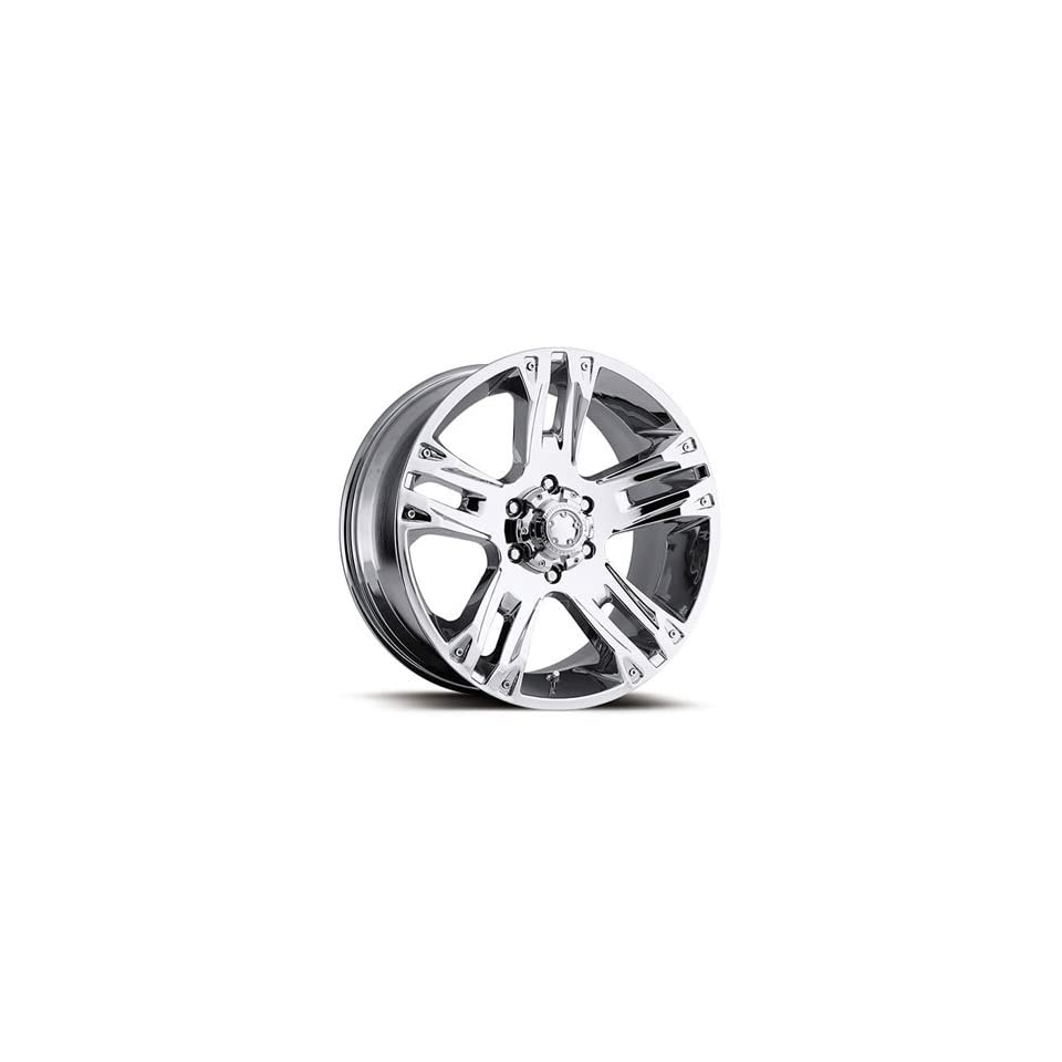 Ultra Maverick 17 Chrome Wheel / Rim 8x170 with a 0mm Offset and a 125 Hub Bore. Partnumber 234 7887C