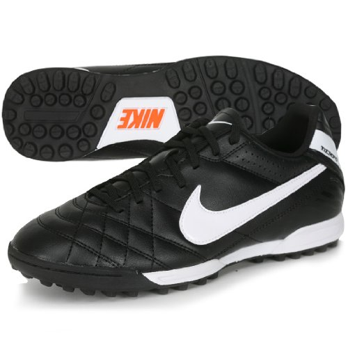 (Nike Tiempo Natural IV Astro Turf Football Boots - 7 - Black)