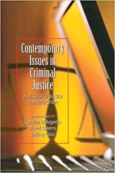 Contemporary Issues in Criminal Justice June 6, 2012