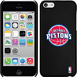 Coveroo Detroit Pistons Design Phone Case for iPhone 5C - Retail Packaging - Black