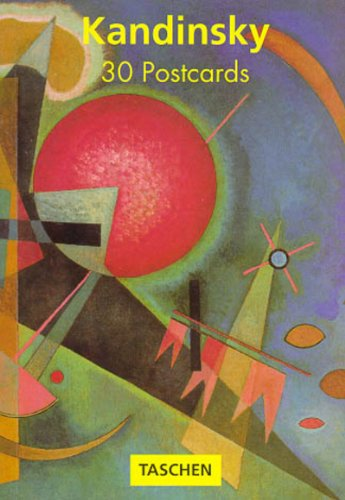 PostcardBook Wassily Kandinsky 30 Postcards