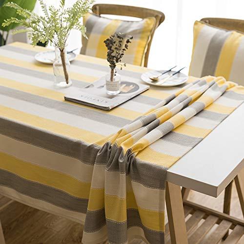 - RXIN 135180cm Minimalist Decorative Tablecloth Linen Tassel Party Banquet Wedding Home Kitchen Waterproof Table Cloth