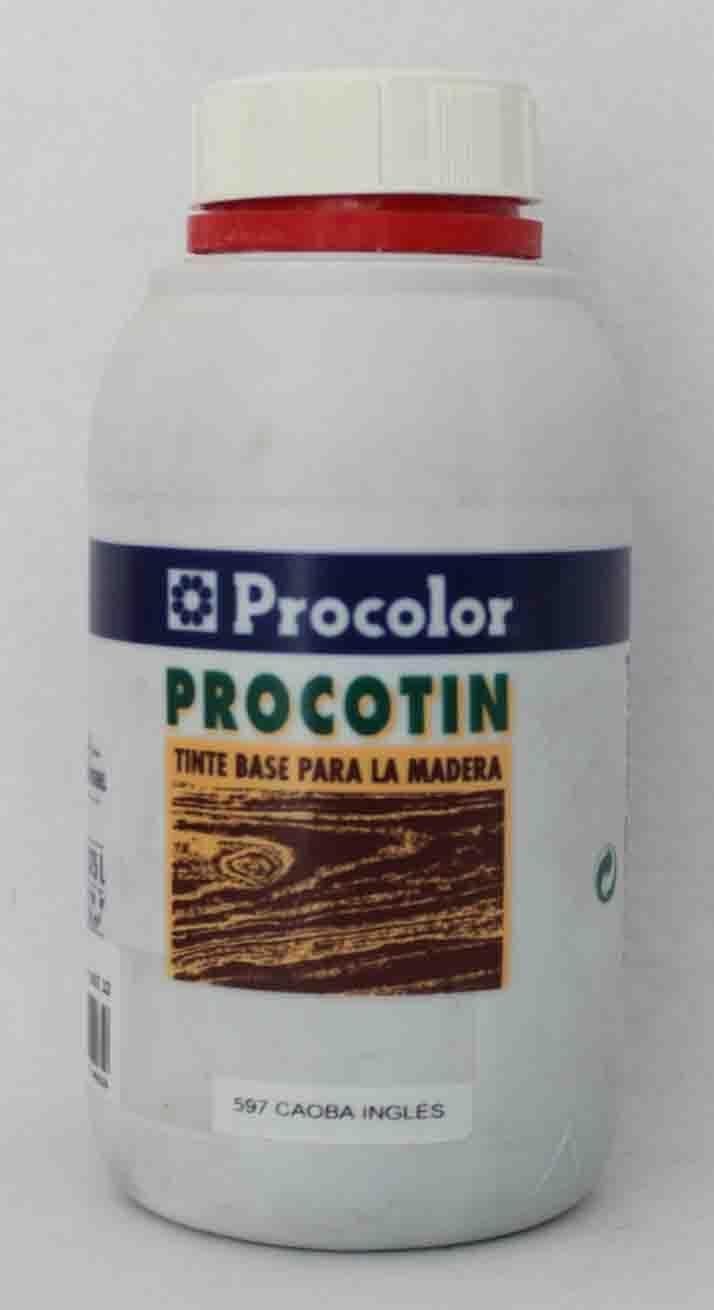 Tinte para madera PROCOTIN 0,375 L color 597 Caoba Ingles de ...