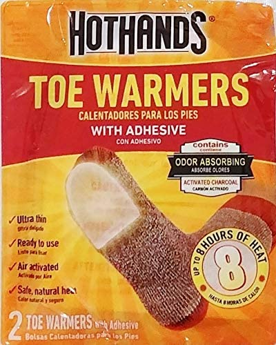 Amazon.com: Ready to Use Toe Feet Warmers with Adhesive ...