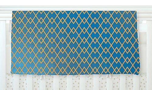 KESS InHouse Matt Eklund Down By The Beach Blue Gold Fleece Baby Blanket 40 x 30 [並行輸入品]   B077YW9P6J