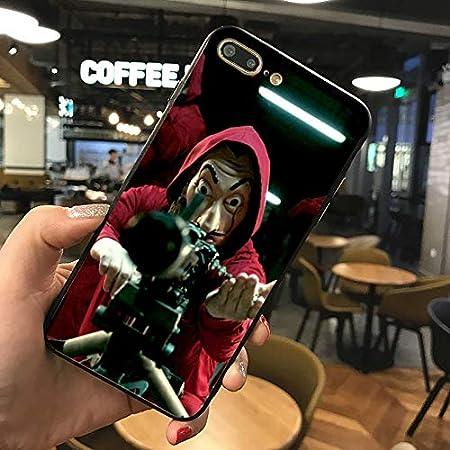 Red La Casa De Papel Iphone 8 Case Money Heist Iphone 7