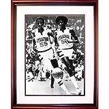 NCAA Syracuse Orange Roosevelt Bouie and Louis Orr Basketball Framed Igned 16x20 Photo
