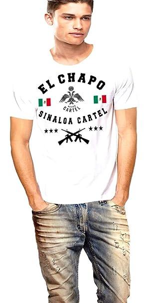 El Chapo Guzman T-Shirt Sinaloa Cartel Mexican Drug Lord ...
