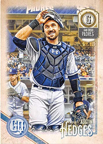 (2018 Topps Gypsy Queen #119 Austin Hedges San Diego Padres Baseball Card - GOTBASEBALLCARDS)