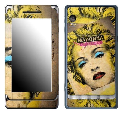 MusicSkins, MS-MD40207, Madonna - Celebration, Motorola Droid 2, (Madonna Celebration Skin)