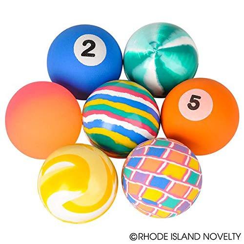 38Mm Hi Bounce Ball Mix (50 Pieces) - Bulk