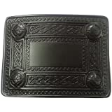 AAR Scottish Kilt Belt Buckle 4 Dome Mirror Design/Highland Kilt Belt BUCKLE