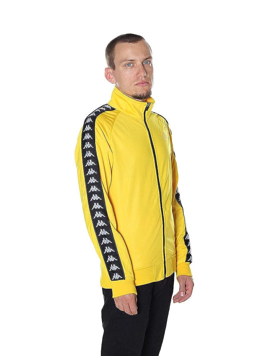 giacca gialla striscia nera