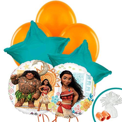 Moana Standard Balloon Bouquet Kit (Standard Helium Balloon Kit)