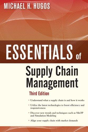 Essentials of Supply Chain Management, Third Edition