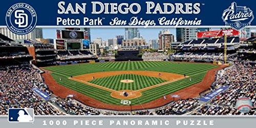 (MasterPieces MLB San Diego Padres Stadium Panoramic Jigsaw Puzzle, 1000-Piece)