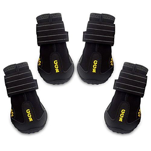 Union Rich Pet Boots 4 Pcs Outdoor Waterproof and Wearproof