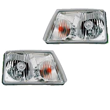Winnebago Vista 2010-2015 RV Motorhome Pair (Left & Right) Replacement  Headlights Head Lights Front Lamps
