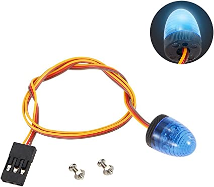 Multi-mode LED Light Control Switch Single Strobe Switch Part for RC Crawler Car