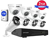 Best Bullet Surveillance Security Systems - Safevant 8CH 5-in-1 HD DVR Security Camera System Review