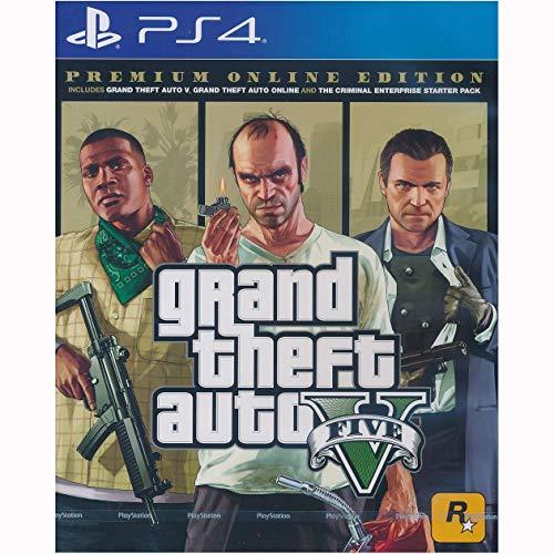 PS4 GRAND THEFT AUTO V PREMIUM ONLINE EDITION (ASIA)