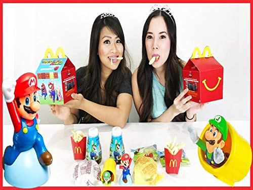 (Clip: Happy Meal Surprise Toy Opening with Princess ToysReview )