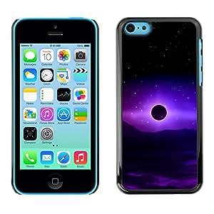 Stuss Case / Funda Carcasa protectora - Cosmic Purple Energy - iPhone 5C