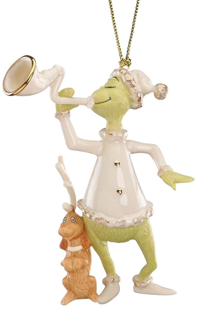 Lenox 'The Grinch Who Stole Christmas' Grinch's Sounding The Horn Ornament