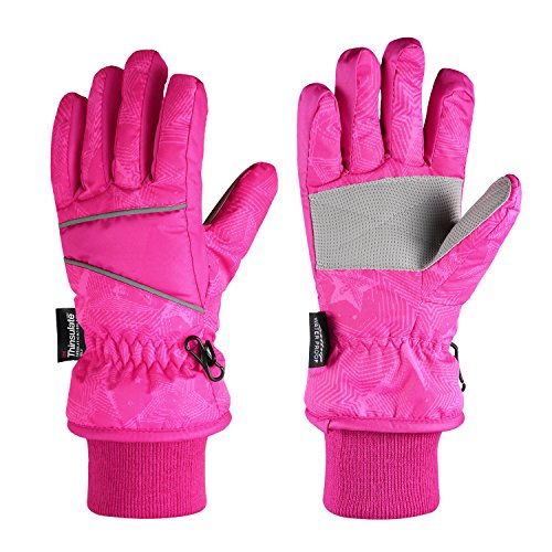 Fazitrip 3M Thinsulate Kid Gloves Snow, Windpro...
