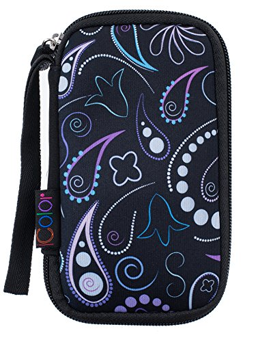 iColor Universial Portable USB Flash Drive Case Bag/Electronic Accessories Organizer Holder/Hard Drive Case Bag (USB-003)